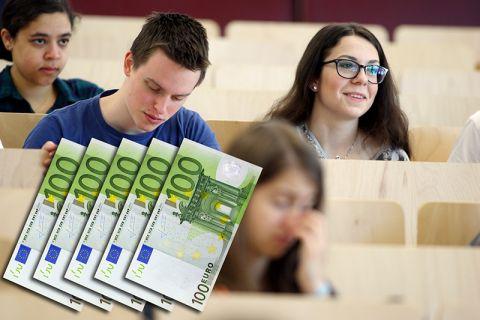 Das Landesstipendium Niedersachsen ist mit einer Einmalzahlung von 500 Euro verbunden. Foto: Möldner, Grafik: Bruchmann