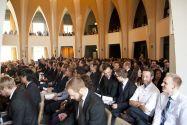 Volles Haus: In der Aula Academica der Technischen Universität Clausthal nahmen 349 Absolventinnen und Absolventen ihre Abschlusszeugnisse entgegen. Foto: Ernst