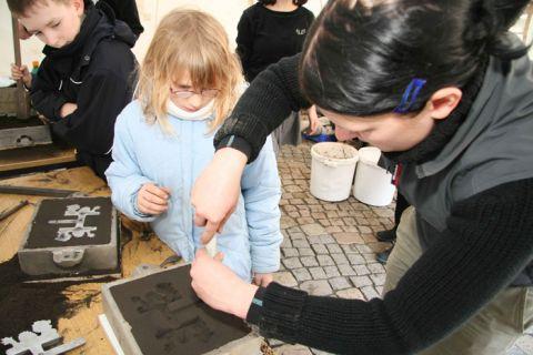 Der Flying Science Circus der TU Clausthal wird auf der Hannover Messe die Gießereitechnik vorstellen.
