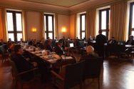 Tagte in stimmungsvollem Ambiente: der Wirtschaftspolitische Ausschuss.