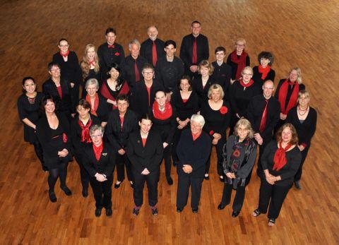 Der Kammerchor an der TU Clausthal  trägt seit seiner Gründung 1985 durch Konzerte zum Kulturangebot der Universitätsstadt Clausthal-Zellerfeld und ihrer Umgebung bei. Foto: Rotschiller