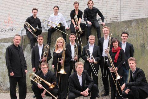 """Das renommierte Blechbläserensemble """"Trombone Class Hannover"""" wird im Konzert mit Instrumentalmusik und als Chorbegleitung zu hören sein. Foto: Trombone Class Hannover"""