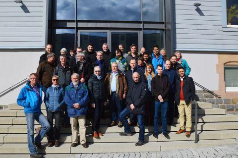Ehemaligen-Treffen des Instituts für Technische Mechanik. Foto: Alumnimanagement