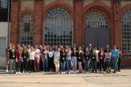 Teilnehmende des Camps über Wissenschaftskommunikation, das im Weltkulturerbe Rammelsberg stattfand. Foto: TUC