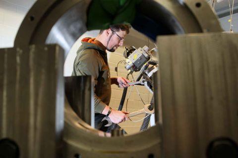 Steht für Qualität: der Maschinenbau an der Technischen Universität Clausthal. Foto: Möldner