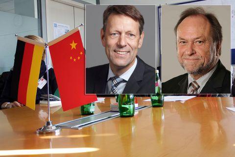 Zur Delegation, die an der Deutsch-Chinesischen Innovationskonferenz in Peking teilnimmt und von Staatssekretär Dr. Georg Schütte (Porträt links) angeführt wird, zählt TU-Präsident Professor Thomas Hanschke. Fotos: Archiv/BMBF
