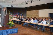 Professor Hans-Peter Beck eröffnet die erste Dialogplattform zum Thema Erzeugung von Wärme unter dem Einsatz von Strom. Foto: EFZN