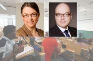 Neue Gesichter an der TU Clausthal: Kathrin Seifert und Dr. Georg Ebertshäuser. Fotos: Möldner, Privat