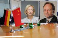 Wollen die Kontakte zwischen Deutschland und China im Bereich der Wissenschaft intensivieren: Bundesforschungsministerin Prof. Johanna Wanka und der Clausthaler Universitätspräsident Prof. Thomas Hanschke. Fotos: Archiv, BMBF