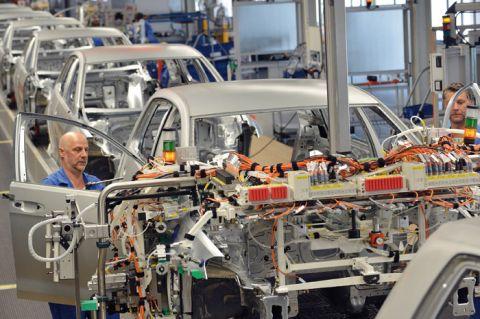 Die aktuelle Automobilproduktion steht im Blickpunkt der Ringvorlesung. Foto: Volkswagen