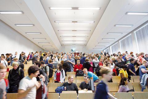 Das Thema Lehre bewegt viele Clausthaler Studierende. Foto: Möldner