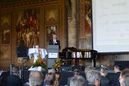 Professor Hans-Peter Beck, EFZN-Vorstandsvorsitzender und Direktor des Instituts für Elektrische Energietechnik und Energiesysteme der TU Clausthal, begrüßte die 200 Gäste in der Kaiserpfalz. Foto: EFZN