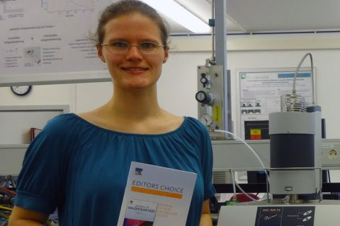 Susanne Krüger, wissenschaftliche Mitarbeiterin am Institut für Nichtmetallische Werkstoffe der TU Clausthal. Foto: Institut