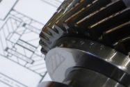 Clausthaler Maschinenbauer zeigen auf der Hannover Messe unter anderem ein Getriebemodell, das die sogenannte Druckkammtechnik aufgreift (Blue Bearing Concept). Foto: Heß