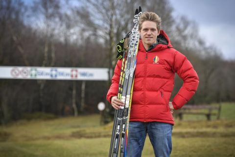Der Belgier Thierry Langer, der an der TU Clausthal Chemie studiert, startet im Langlauf bei den Olympischen Winterspielen in Südkorea. Foto: David Hagemann/Grenz-Echo