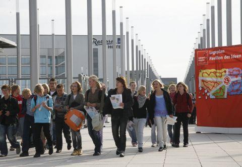 Das Programm der IdeenExpo lockt Tausende junge Gäste an. (Foto: IdeenExpo)