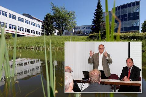 Professor Daniel Goldmann ist zum Vorstandsvorsitzenden der Forschungszentrums CUTEC benannt worden. In dem Zentrum der TU Clausthal stehen Themen wie Rohstoffsicherung und Ressourceneffizienz sowie Nachhaltige Energiesysteme im Fokus. Fotos: Bertram/O.M.