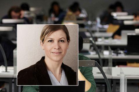 Berät Langzeitstudierende an der TU Clausthal: Annerose Dietz. Fotos: Möldner, privat