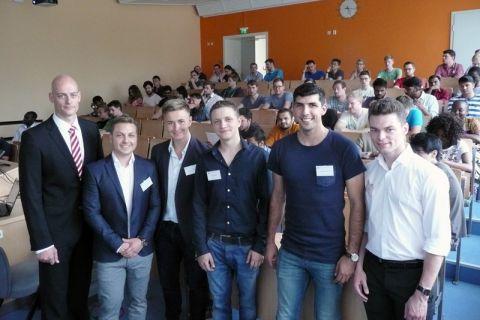 Clausthaler Studierende aus den Bereichen Bergbau, Energie und Rohstoffe haben einen Verein gegründet. Foto: Böhl