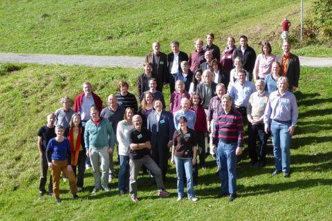 Diskutierten über terrestrische Systeme: Wissenschaftler aus elf Ländern.