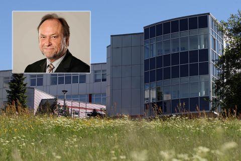 Universitätspräsident Professor Thomas Hanschke sieht Synergieeffekte zwischen dem CUTEC-Institut (im Bild) und der TU Clausthal. Fotos: Möldner