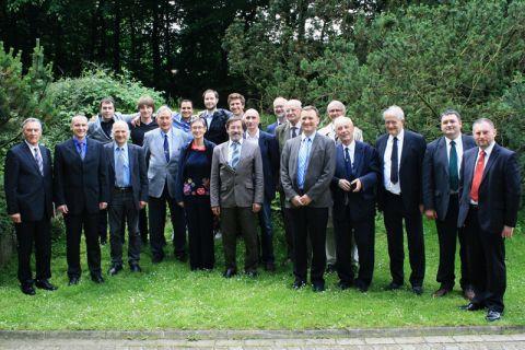 Seit 60 Jahren partnerschaftlich verbunden: Wissenschaftler und Studierende der Universitäten in Clausthal und Ljubljana. Foto: Institut