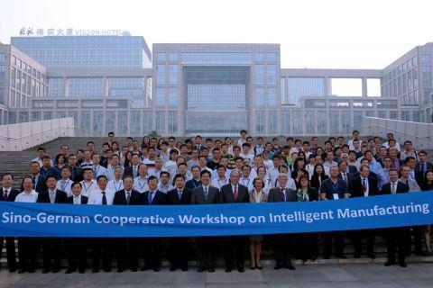 Die Teilnehmenden an der deutsch-chinesischen Tagung in Peking. Foto: Beihang University
