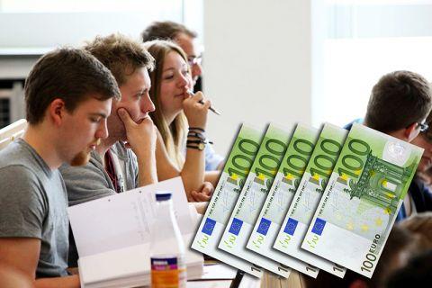 Über 500 Euro zum Fest können sich 46 Studierende der TU Clausthal freuen. Foto: Möldner, Grafik Bruchmann