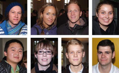 Neu in Clausthal (oben, von links): Johann Wimmer, Milena Hennies und Steffen Virag, Lea Jentzsch, (unten)  Jun Yuan,  Mareike Taube, Simon Hafer und Thomas Hilpert.