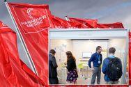 """Auf der Hannover Messe ist die TU Clausthal mit einem Stand des Kooperationsnetzwerks """"MS Multi Mat"""" dabei. Fotos: Hannover Messe, Multi Mat"""