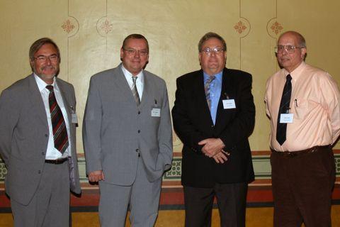 Prof. L. Meyendorf, IfZP Dresden, Prof. L. Wagner, IWW, Prof. D. Eylon, University of Dayton, OH, USA, Prof. H. Rack, Clemson University, SC, USA