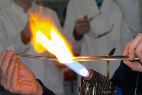 Die Themen Verbrennung und Feuerungen stehen im Mittelpunkt auf dem Deutschen Flammentag. Foto: Müller