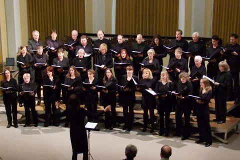 Der Kammerchor an der Technischen Universität Clausthal. (Foto: Herzog)