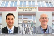 Neue Leiter an der TU Clausthal: Michael Brinkwerth (links) steht an der Spitze des Rechenzentrums und Ronald Halfbrodt  ist Dezernent für den Bereich Haushalt und Finanzen. Fotos: Ernst, Möldner