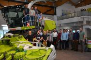 Clausthaler Studierende besichtigen den Landmaschinenkonzern CLAAS. Foto: Susanne Schwartbeck