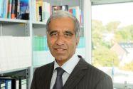 Einer der meist gefragten Klimaexperten Deutschlands: Professor Mojib Latif (Kiel) hält einen Vortrag auf der Jahresversammlung.