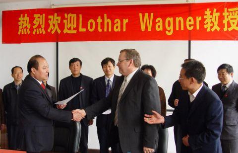 Professor Lothar Wagner erhält eine Gastprofessur der Northwestern Polytechnical University.