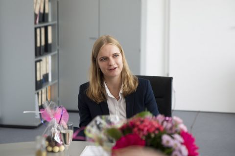 Neue Juniorprofessorin an der TU Clausthal: Nina Gunkelmann. Foto: Lena Hoffmann