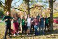 Naturnah und umweltbewusst: Neue Studierende des Clausthaler Masterstudiengangs Umweltverfahrenstechnik und Recycling. Foto: Ernst