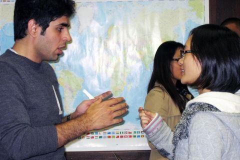 """Interkulturelle Sensibilisierung: Studierende der TU Clausthal werden auch in der Bildungsstätte """"Mariaspring"""" auf den Lebensalltag und das Studium hierzulande vorbereitet. Foto: Mariaspring"""
