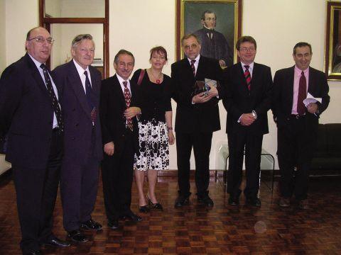 Delegation der TU Clausthal und der Cutec mit Vertretern der Universität Malta