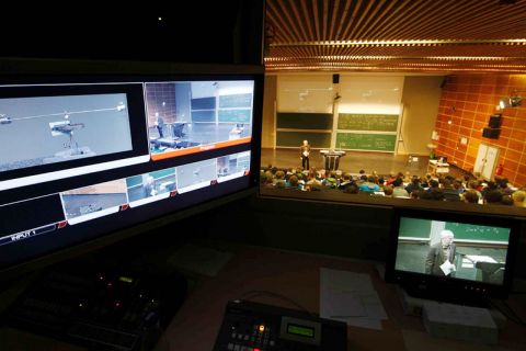 Vorlesungsaufzeichnungen haben an der TU Clausthal eine hohe Qualität. Foto: Möldner