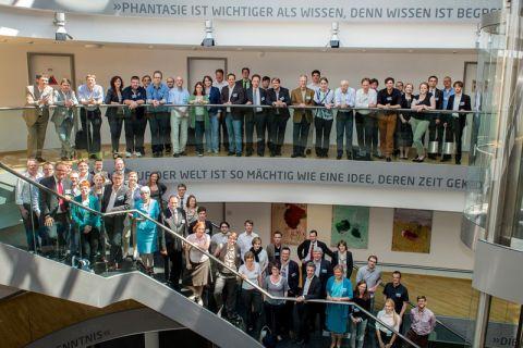 Rund 70 Expertinnen und Experten bilden das Hochschulforum Digitalisierung. Foto: Himsel/Hochschulforum Digitalisierung