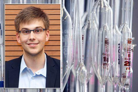 Sören Dreyer studiert Chemie an der TU Clausthal.