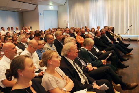 Die Verleihung des Silber-Diploms fand im Hörsaal des Clausthaler Umwelttechnik Forschungszentrums statt. Foto: Annika Budde