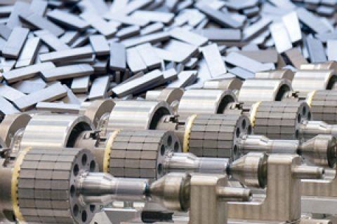 Elektromotoren recyceln: Neue Quelle für Rohstoffe. (Foto: Siemens)