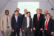 """Teilnehmer des Workshops """"Deutsch-Chinesische Forschungskooperation"""" am Energie-Forschungszentrum Niedersachsen in Goslar: Foto: Dietze"""