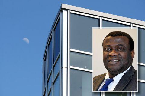 Dr. Theodore Onyeche ist Wissenschaftler am Clausthaler Umwelttechnik Forschungszentrum (CUTEC). Fotos: Ernst, Möldner