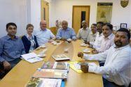 Während der Indien-Reise führte Professor Oliver Langefeld, der von Dr. Elisabeth Clausen und Amit Agasty, M. Tech., begleitet wurde, zahlreiche Gespräche mit Hochschulvertretern des asiatischen Landes. Foto: Institut