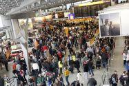 Ziel des Projektes SmartAirport ist es, die langen Wartezeiten auf dem Flughafen zu verkürzen. (Foto: Fraport AG)